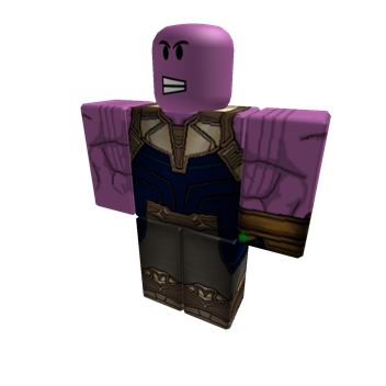 Thanos png roblox. Profile madtitanthanos