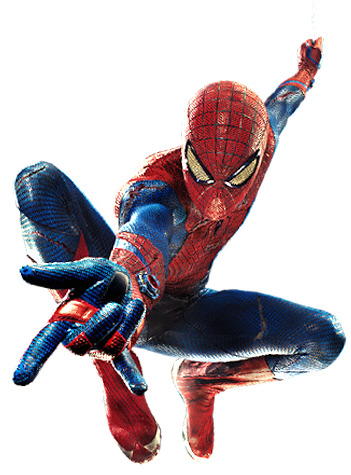 The amazing spiderman png. Spider man on blu