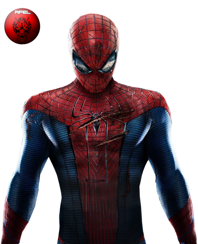The amazing spiderman png. By afel on deviantart