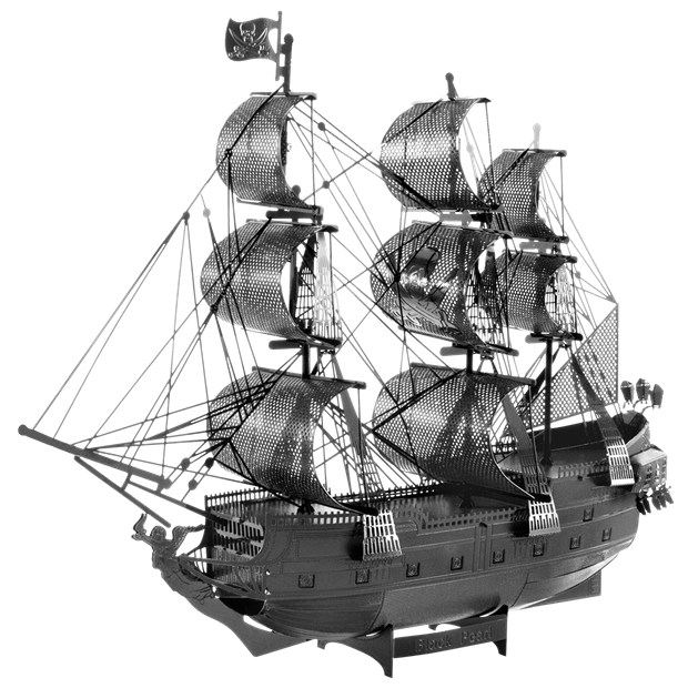 The black pearl png. Fascinations metal earth d