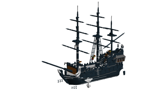 The black pearl png. Potc page lego pirates