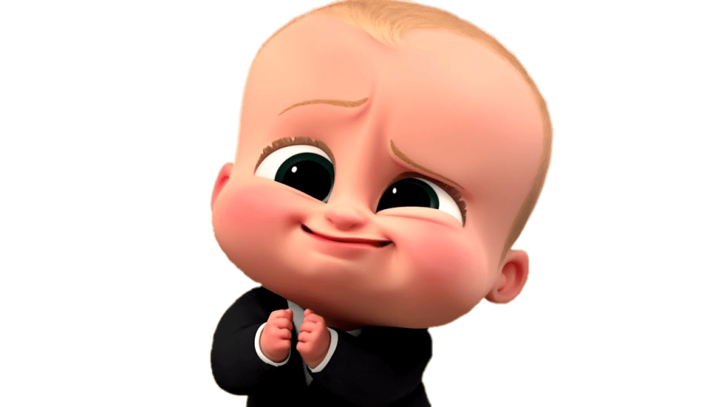 The boss baby png. Photo vector clipart psd