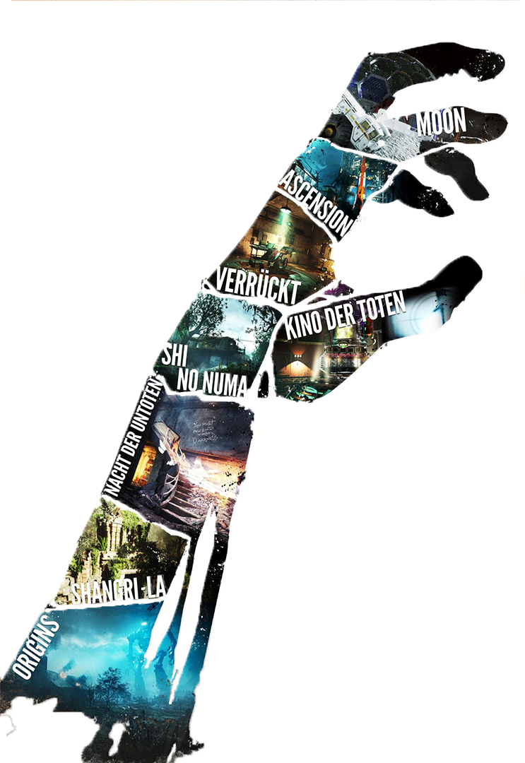 The darkest shore saw png. Zombie chronicles hand cutout