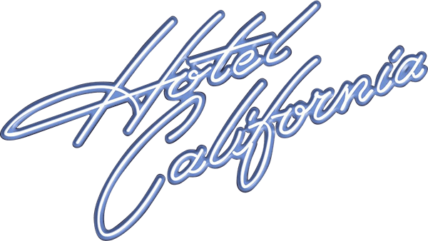 The eagles band logo png. Hotel california in support