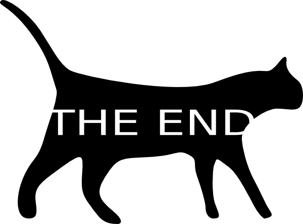 The end clipart. Free ending cliparts download