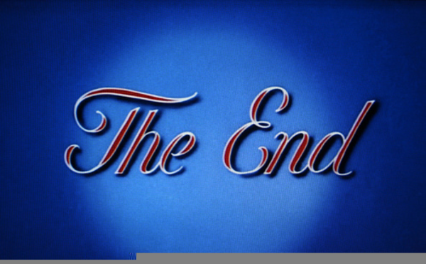 The end clipart. School year free images