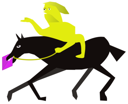 The end clipart apocalypse. Apocalyptic literature horse prophecy
