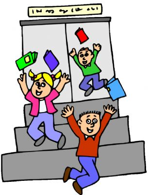 The end clipart capable. Free of school clipartmonk