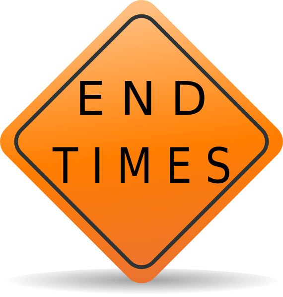 Times clip art at. The end clipart end sign picture library library