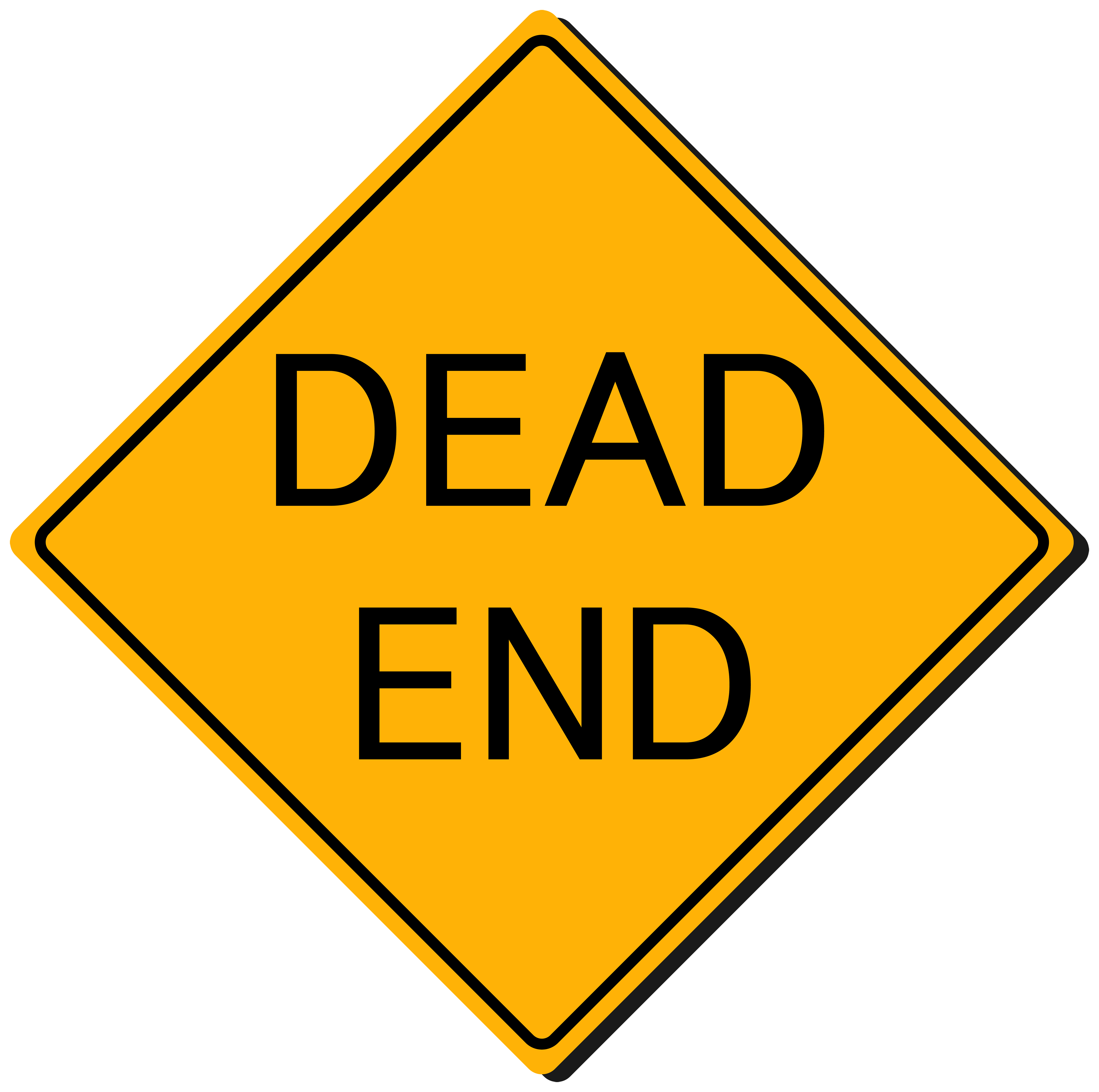 Dead sign png best. The end clipart picture transparent library