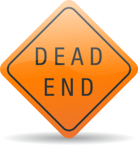 Dead sign clip art. The end clipart clipart freeuse library