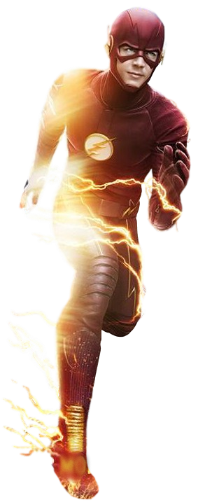 Transparent flash background. Image x supergirl by