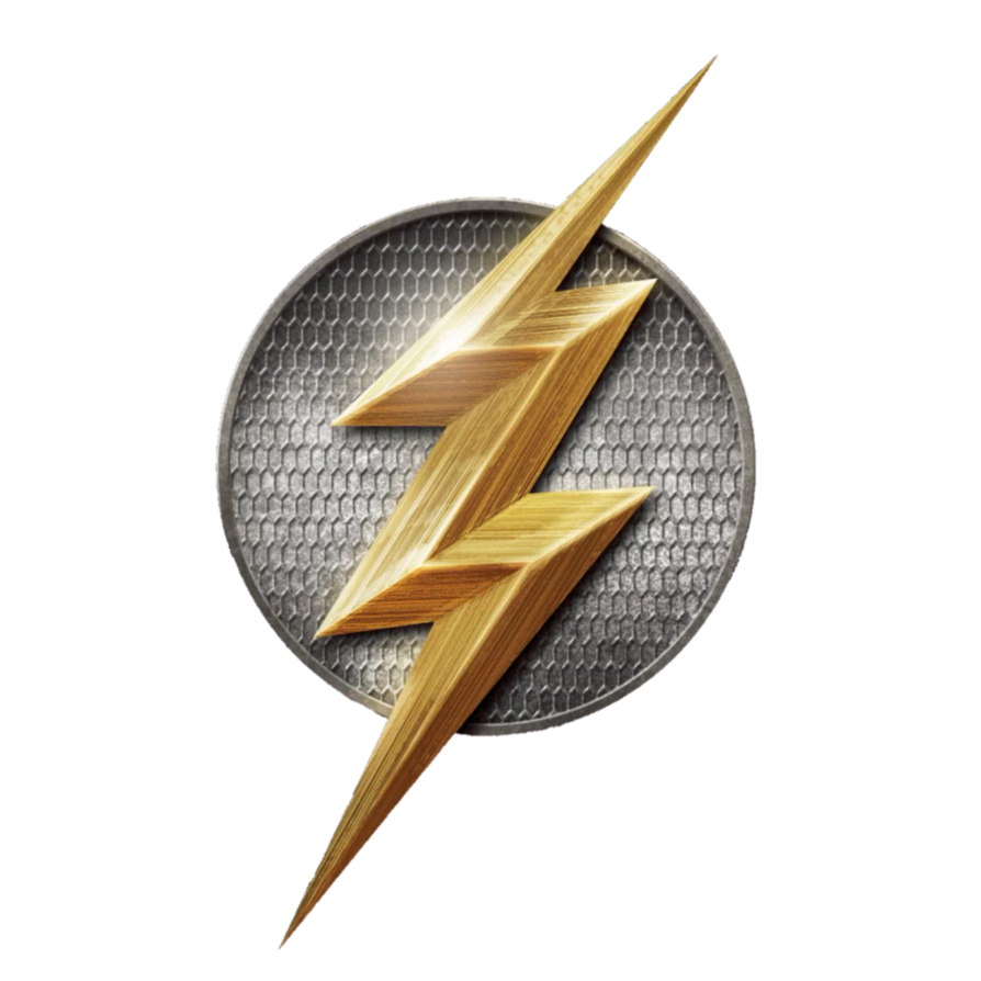The flash logo png. Dceu by thegothamguardian on
