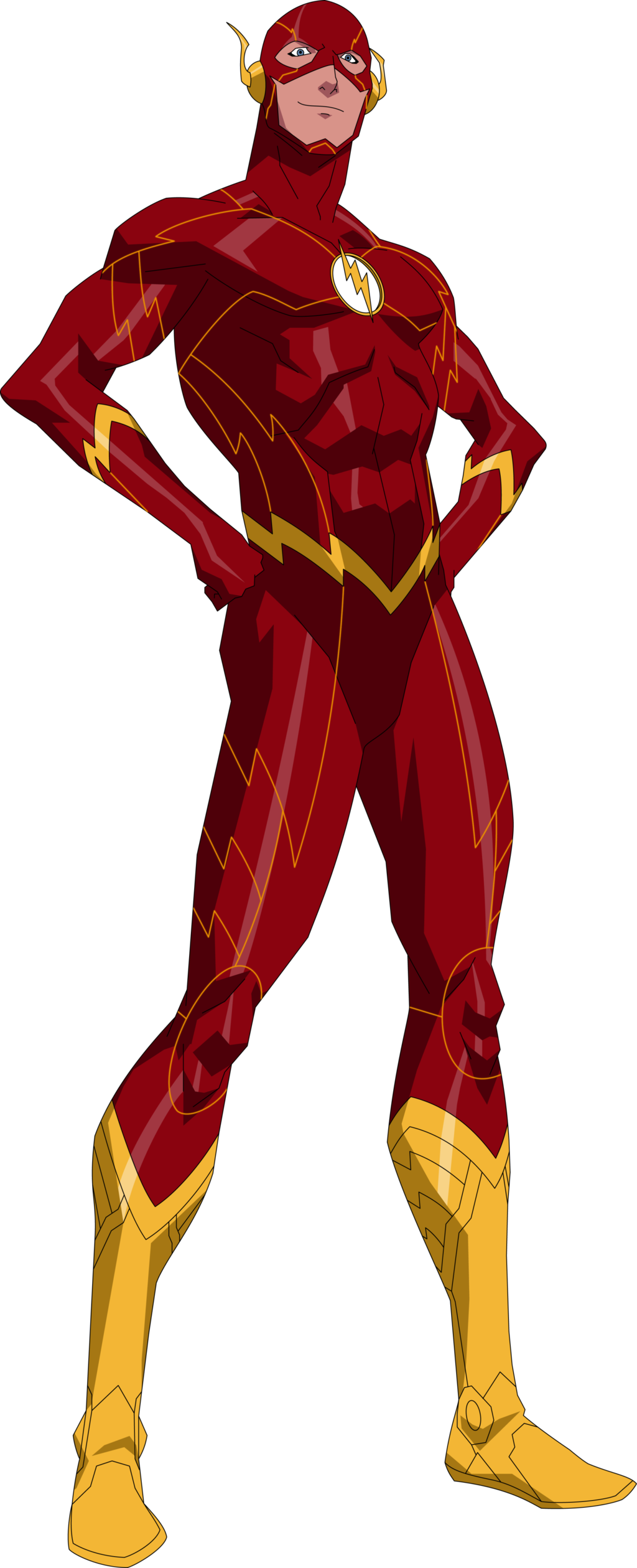 The flash new 52 png. By owc deviantart com