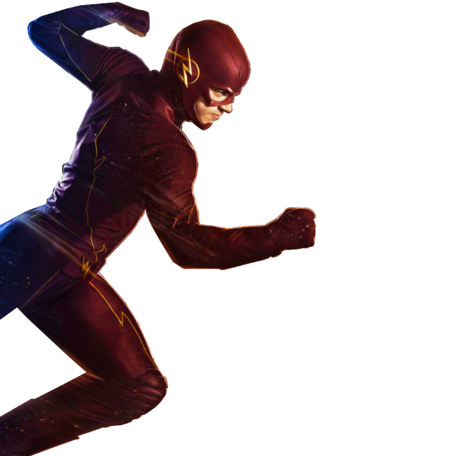 The flash running png. Transparent by asthonx on