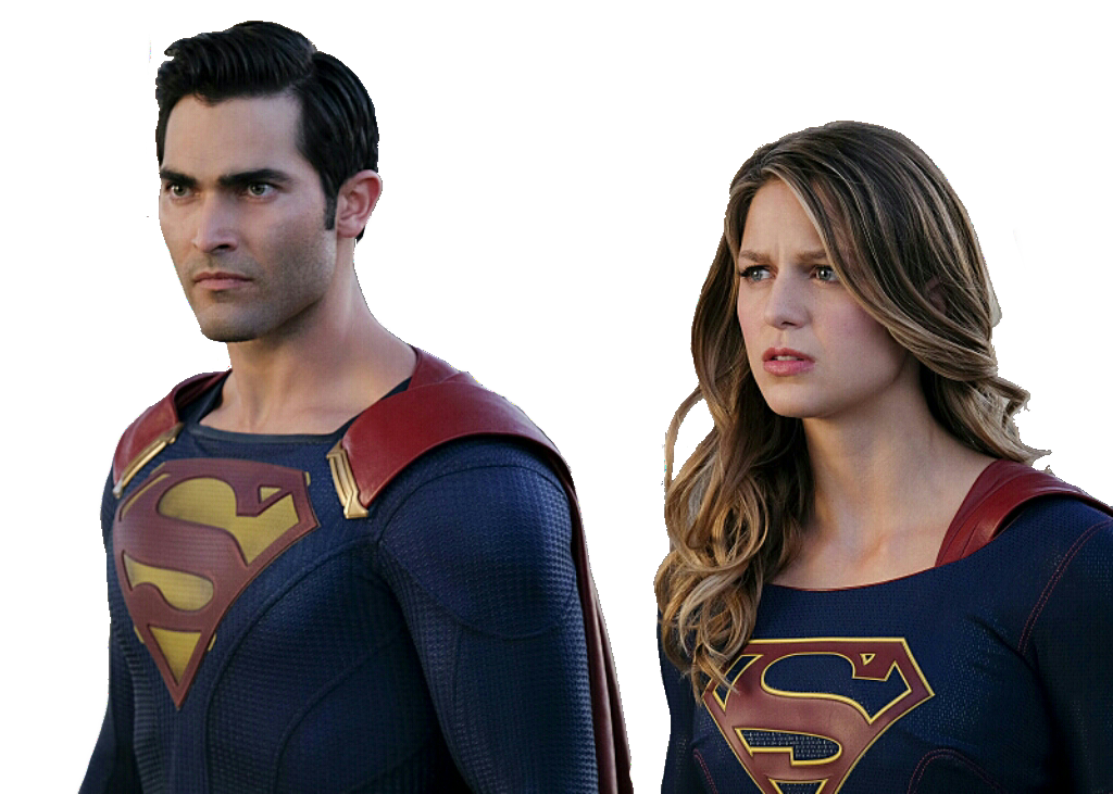 The flash y supergirl png. Superman and cw by