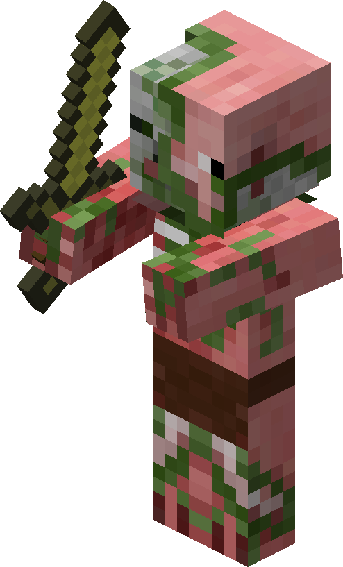 The giant zombies png. Image minecraft zombie pigman