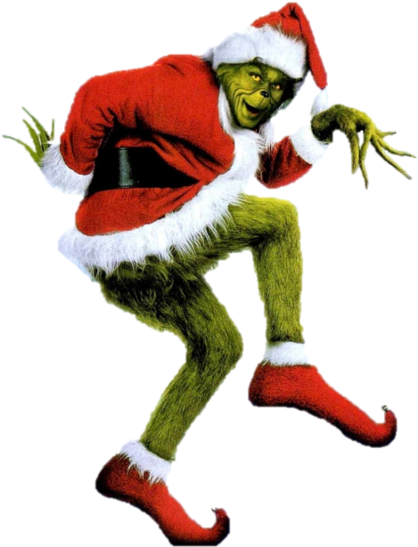 The grinch png. It wouldn t be