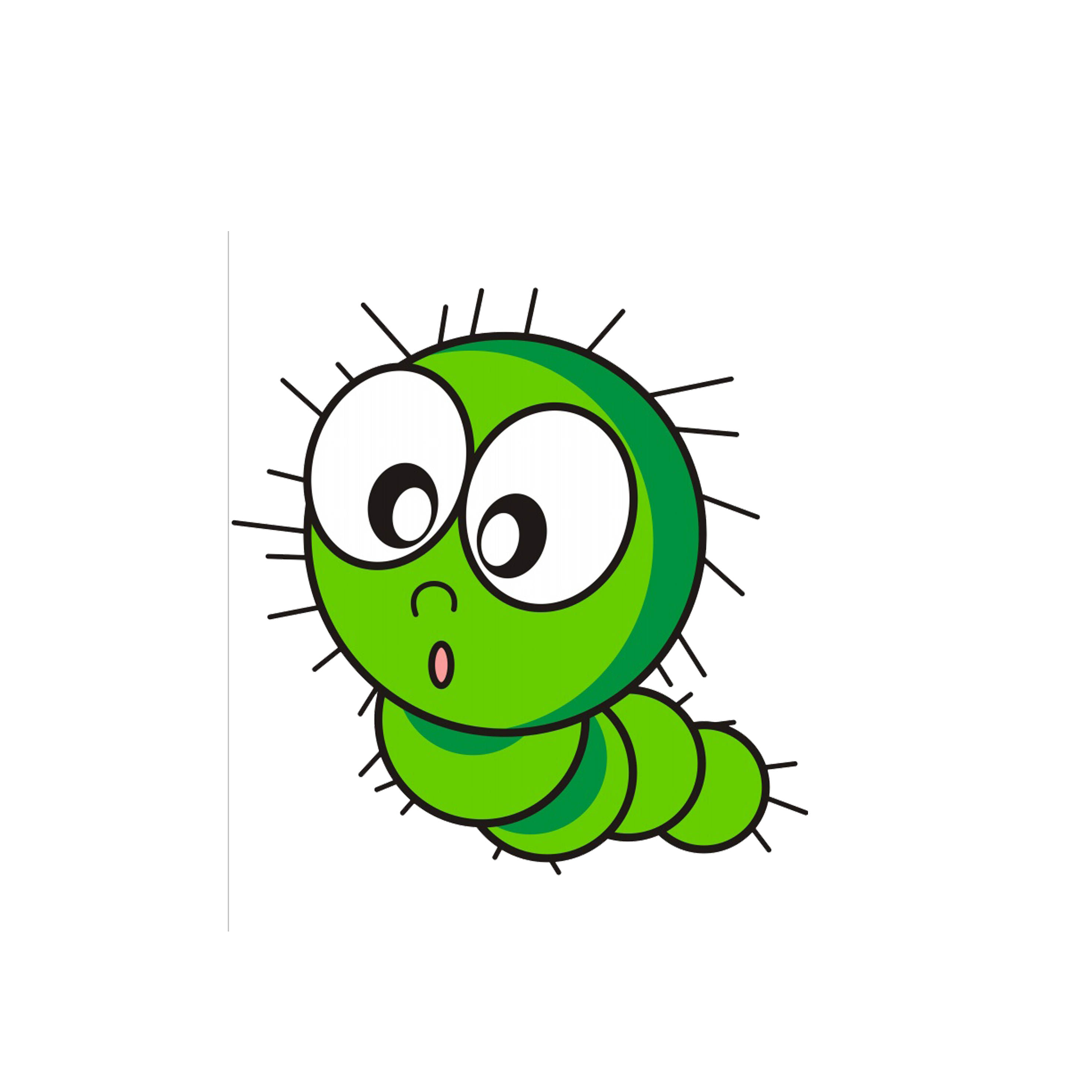 The hungry caterpillar png. Cartoon insect transprent free