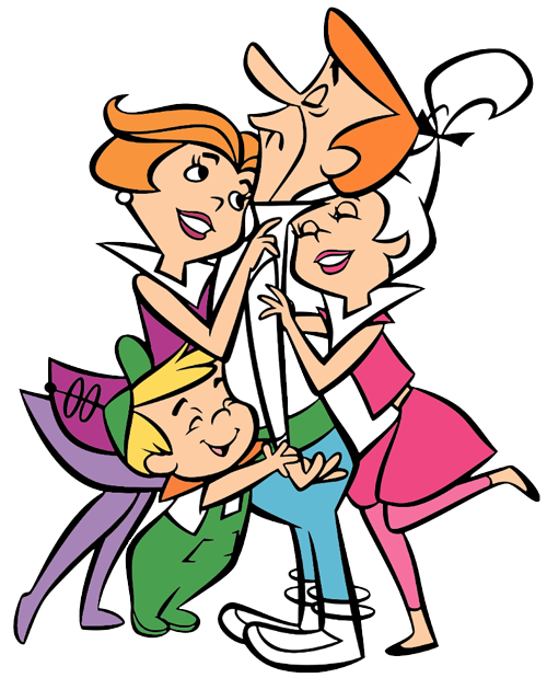The Jetsons. Clip art cartoon
