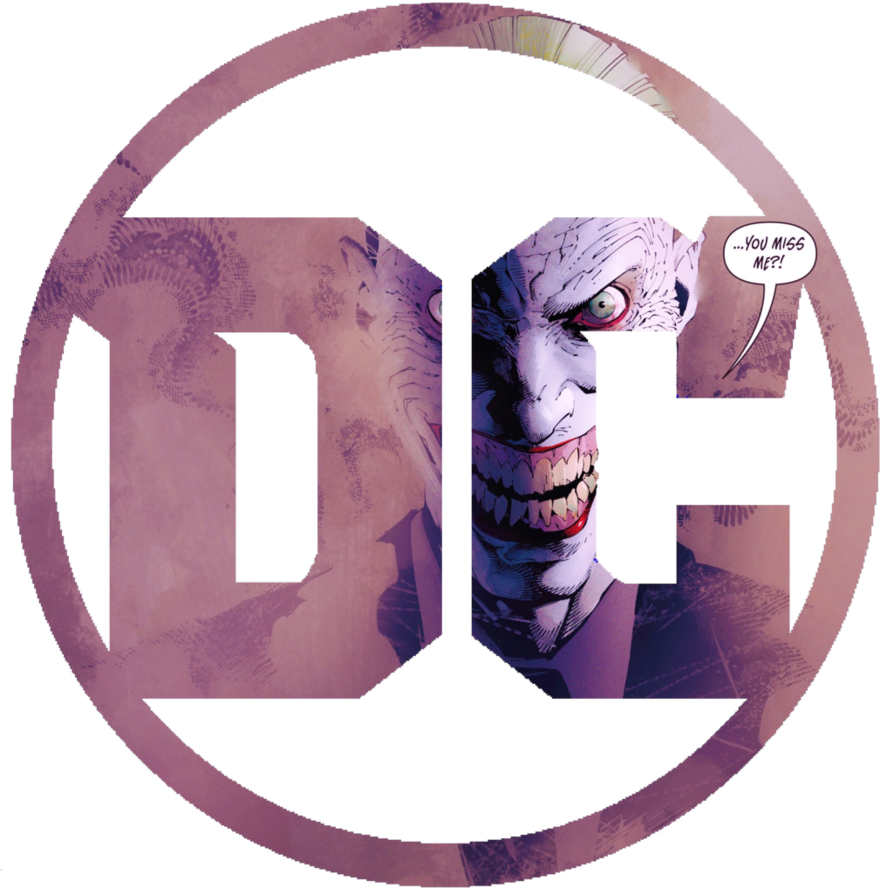 The joker logo png. Dc for ver by