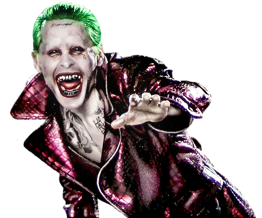 The joker png. Suicide squad laughing recolour
