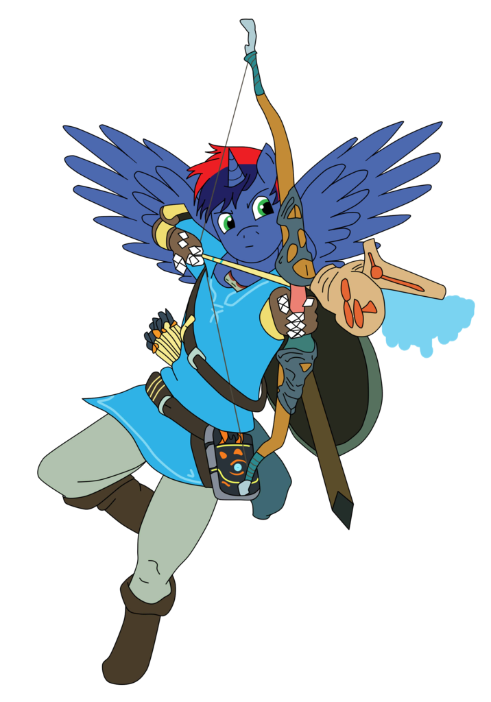 The Legend Of Zelda Breath Of The Wild Link Png Picture