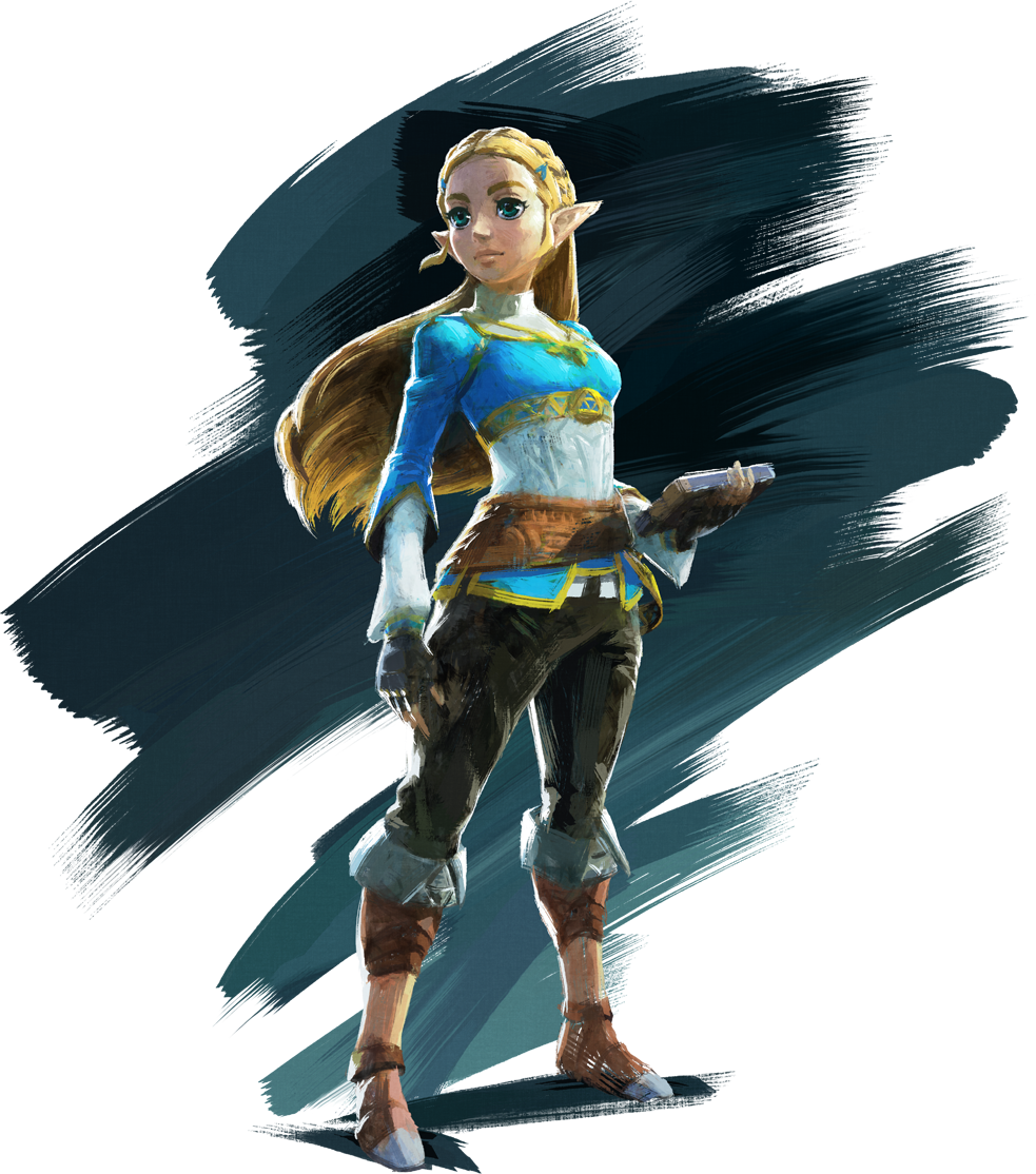 transparent zelda loz