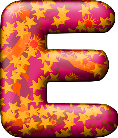 The letter e png. Presentation alphabets party balloon