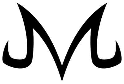 Majin m png. Letter image with transparent