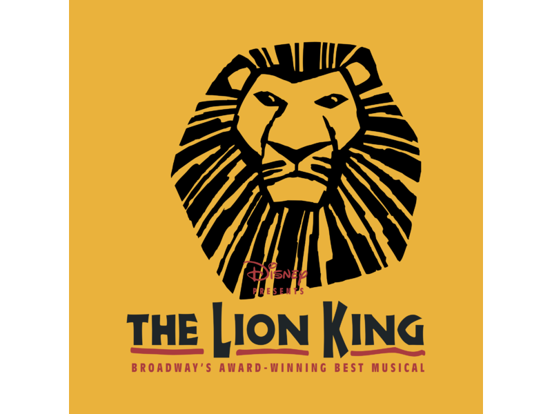 The lion king logo png. Transparent svg vector freebie