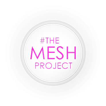 The mesh project logo png