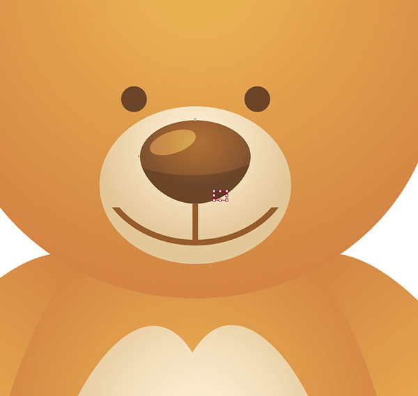 The nosed clipart teddy bear. Create a simple school graphic library stock