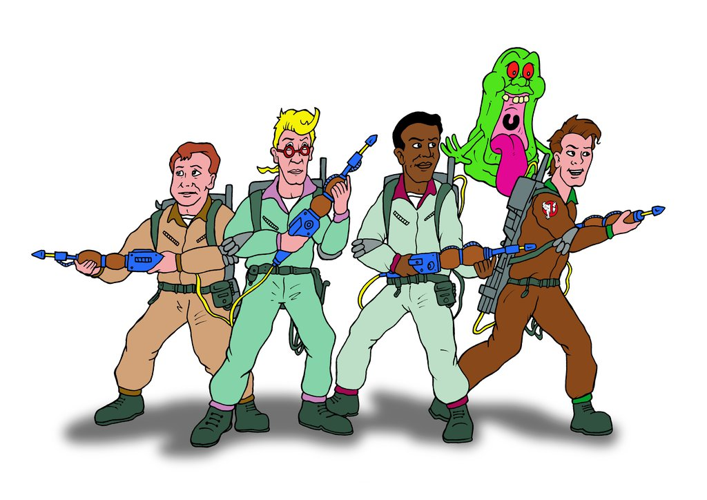 The Real Ghostbusters. Clipart at getdrawings com