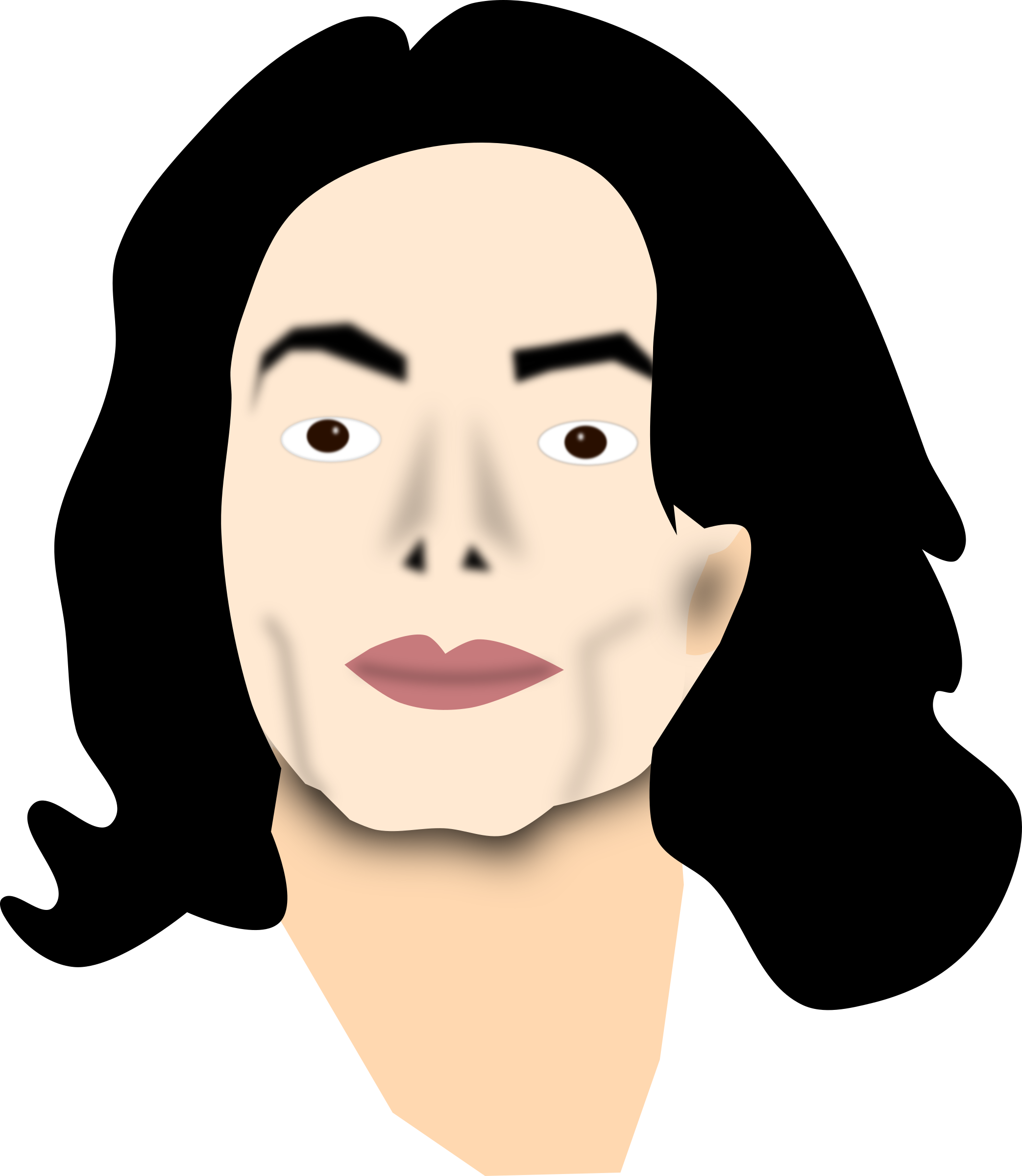 The rock face png. Michael jackson images free