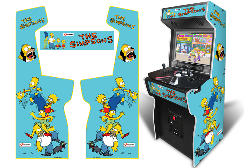 The simpsons arcade png. Customer submitted custom permanent