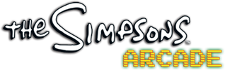 The simpsons arcade png. Logopedia fandom powered by