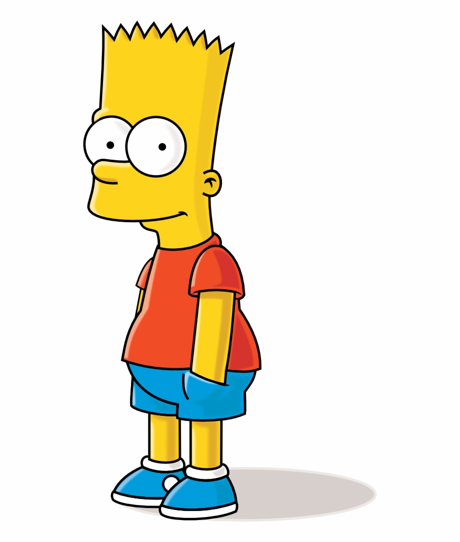 The Simpsons. Bart simpson clipart pngtube