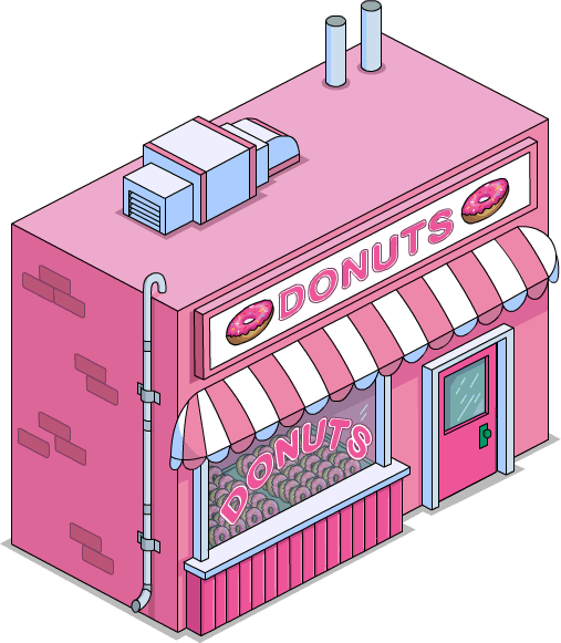 The simpsons donut png. Image store menu tapped