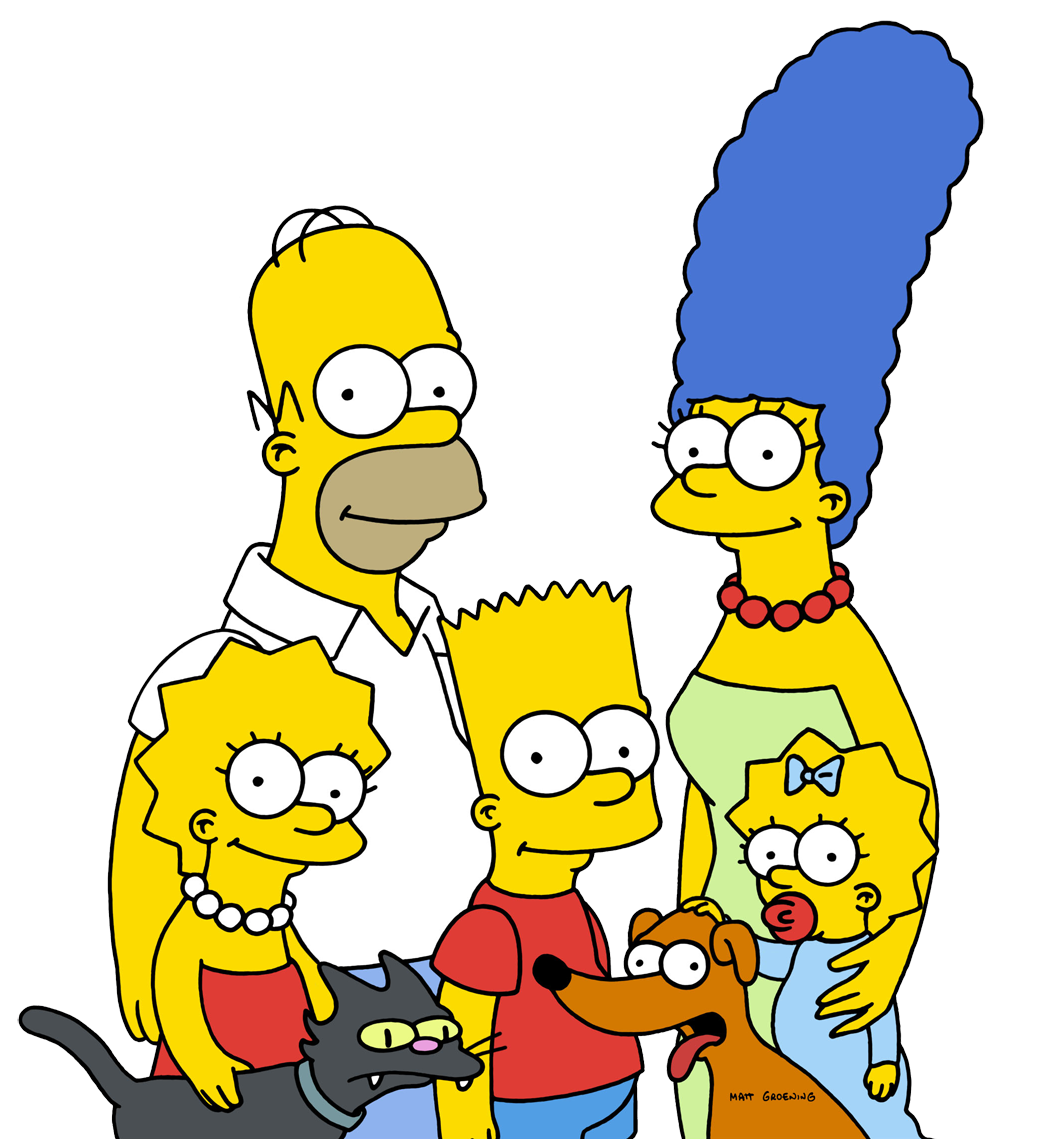 The simpsons png. Clipart mart