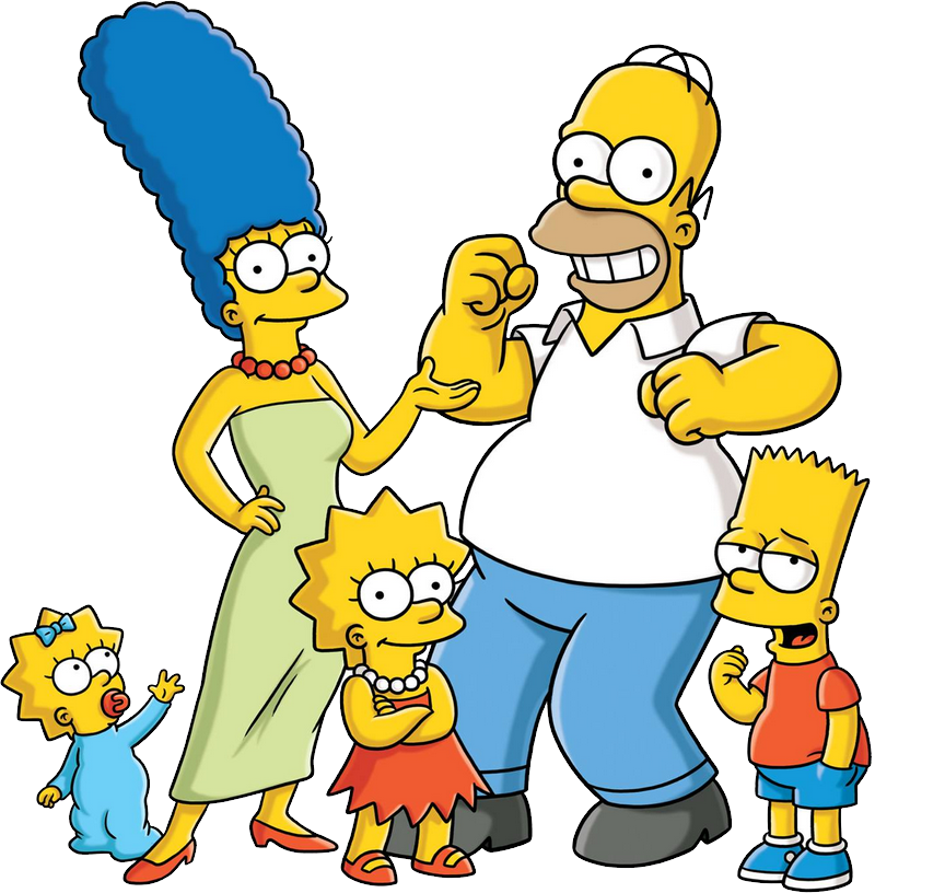 The simpsons png.