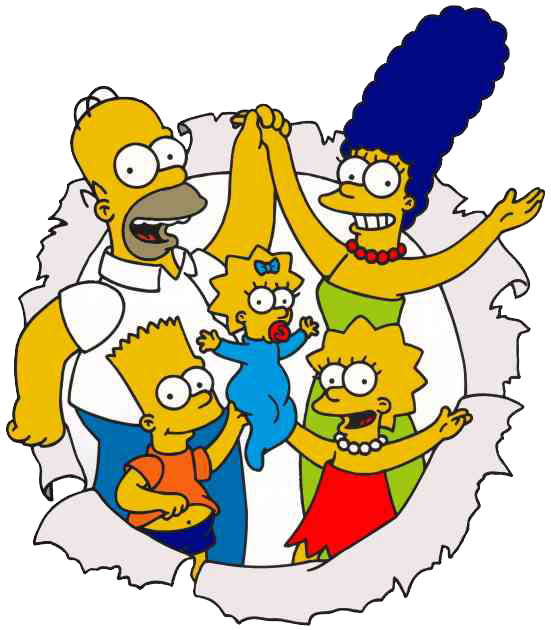 The simpsons png. Los by florchu on