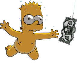 Nirvana nevermind icon the. Bart drawing homer simpson clip art free
