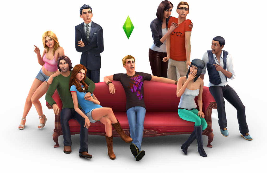 The sims 4 personagens png. Darasims