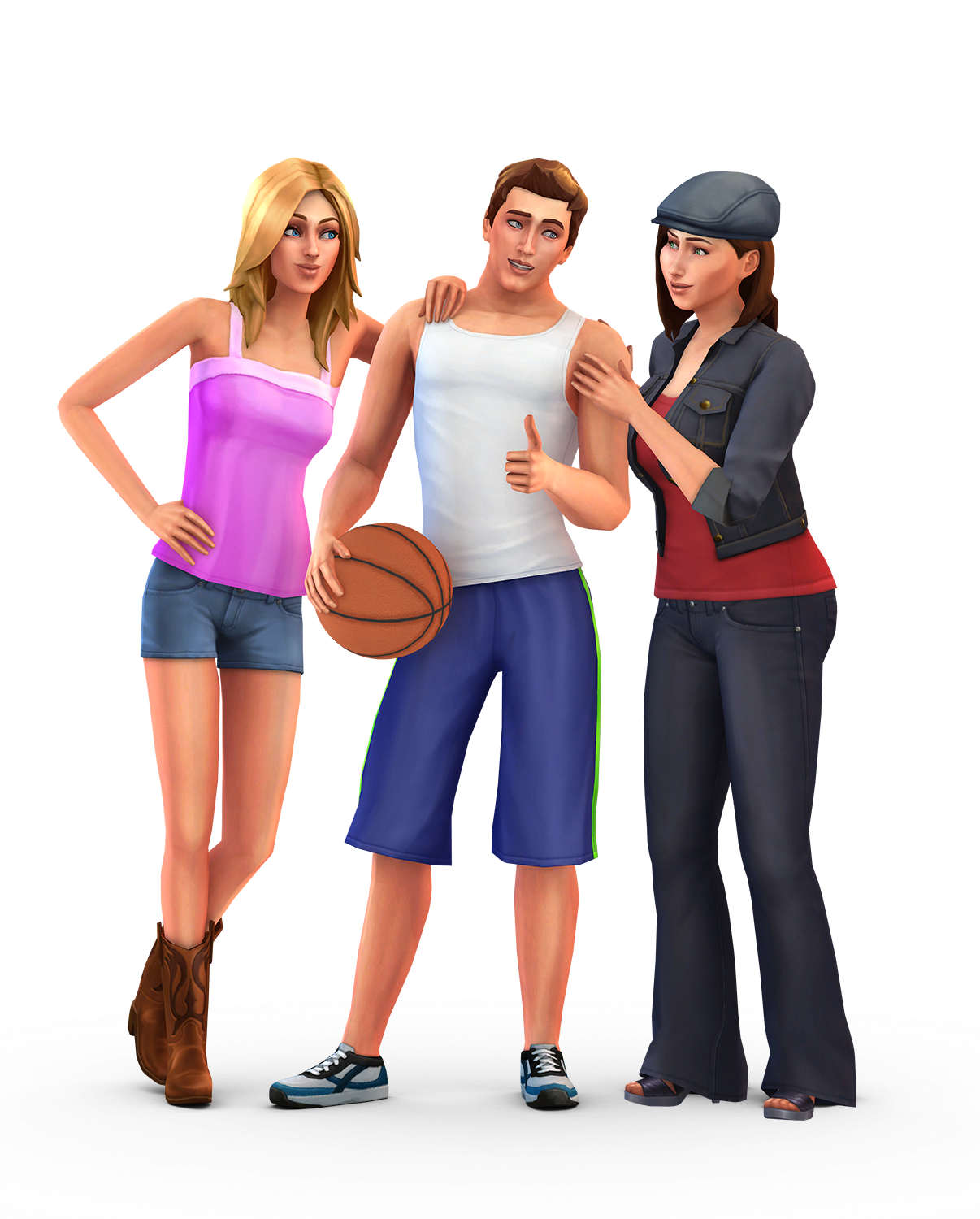 The sims 4 personagens png. Renders do somos e