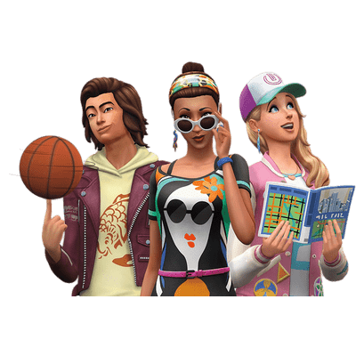 The sims 4 png. Transparent stickpng youngsters