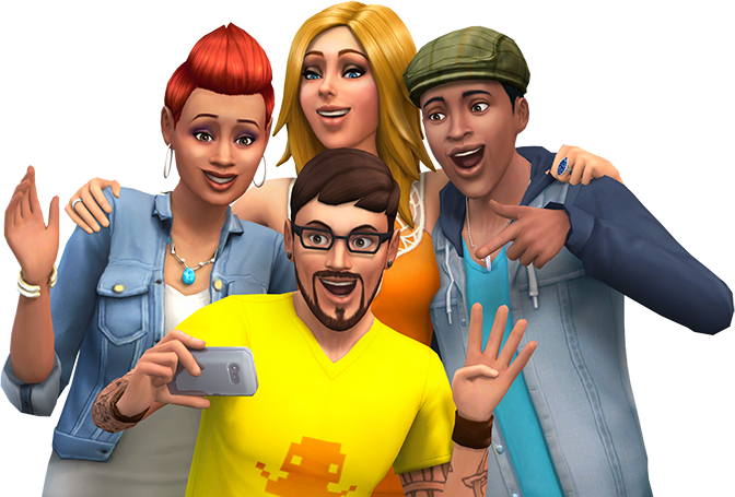 The sims 4 png. Xbox one and playstation
