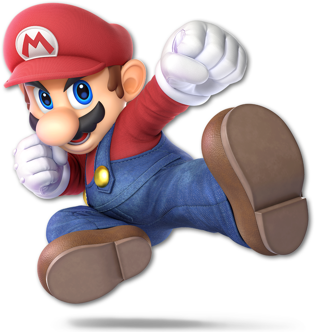 The transparent character. Super smash bros ultimate