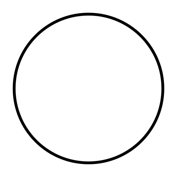 The transparent circle. Is considered a polygon