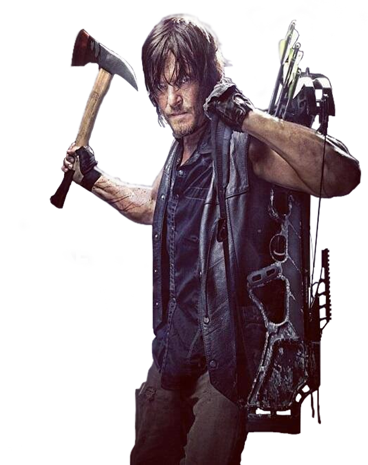 The walking dad png. Image transparentdaryl dead wiki